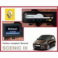 tester compteur scenic 3