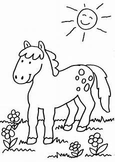 Malvorlage Pferd Kostenlos Ausdrucken Ausmalbild Pferde Pferd Auf Der Koppel Kostenlos Ausdrucken