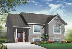 split entry house plans small split level home plan 22354dr 1st floor master