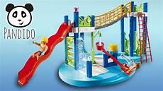 Playmobil Ausmalbilder Schwimmbad Playmobil Schwimmbad Wasserspielplatz Aquapark Pandido