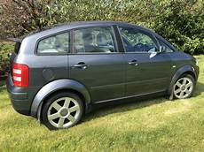 2003 03 audi a2 1 4 petrol se dolphin grey only 46 000