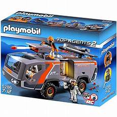 Playmobil Malvorlagen Top Agents Top Agents 2 Team Command Vehicle Set Playmobil 5286
