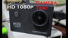 dbpower hd 1080p test with zoom