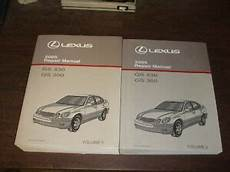 free service manuals online 2001 lexus gs electronic valve timing 2005 lexus gs430 gs300 gs 300 430 repair manual 2 volume set shop service oem ebay