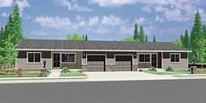 duplex house plans with garage ranch duplex house plan covered porch 2 bedroom 1 bath 1