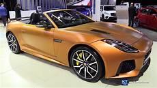 2019 jaguar f type svr exterior and interior walkaround