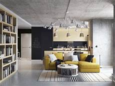 3 inspiring homes with concrete ceilings and wood 3 concrete lofts with wide open floor plans