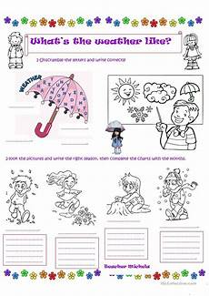 what s the weather like colouring worksheet worksheet
