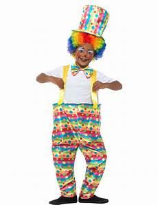 clown verkleidung f 252 r jungen zirkus bunt kost 252 me f 252 r