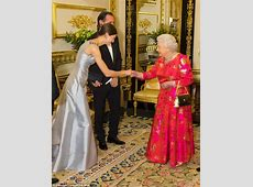 The Queen celebrates the Aga Khan's diamond jubilee