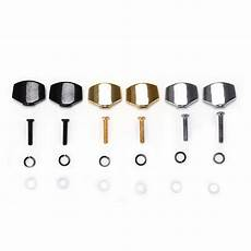 metal guitar tuning 2pcs small oval metal guitar tuning pegs tuners machine heads replacement buttons knobs