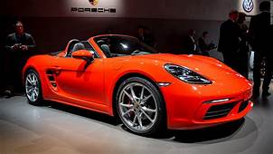 Porsche 718 Boxster  Cool Cars From The 2016 Geneva Motor