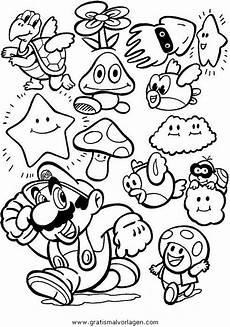 Malvorlagen Gratis Mario Mario Bros 36 Gratis Malvorlage In Comic