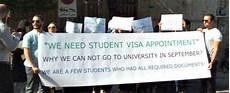 consolato italiano in iran iran niente visto per gli studenti ammessi nelle