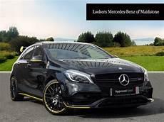 Mercedes A Klasse Schwarz - mercedes a class amg a 45 4matic yellow edition