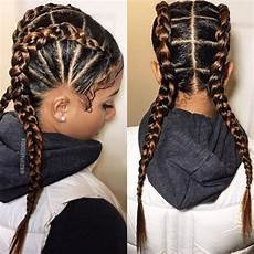 two braids hairstyles american hairstyling