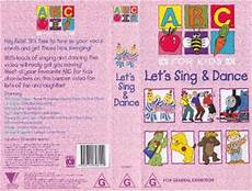 abc for kids lets sing and dance vhs pal video