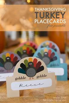 17 thanksgiving place card ideas the happy scraps