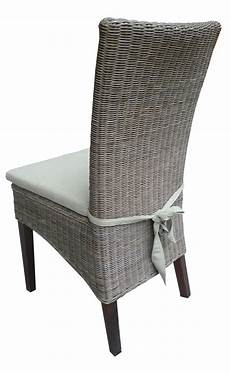 galette de chaise pour chaise rotin