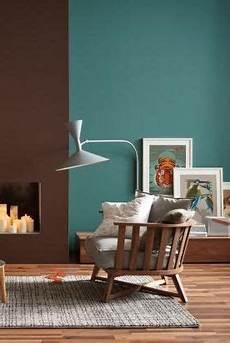 wandfarbe zu braunen möbeln die wandfarben petrol und braun in einem raum bild 10