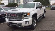 2019 gmc sierra 2500hd denali 5th wheel gooseneck prep 6 6l duramax diesel oshawa on stock
