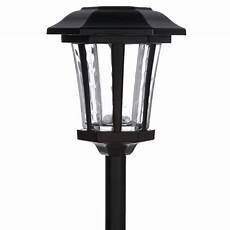 hton bay solar bronze outdoor integrated led landscape path light with water glass lens