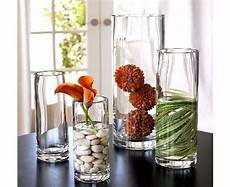 Home Decor Ideas With Vases by Cylinder Vase Arrangements Thanksgiving Table Settings