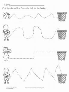sports tracing worksheets 15881 reading readiness worksheet preschool weekly themes sports theme classroom creative