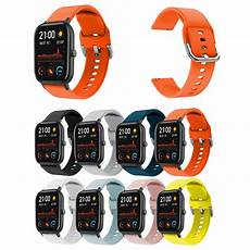 Bakeey 20mm Colorful Release by Bakeey Colorful 20mm Silicone Band For Amazfit Gts