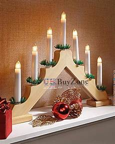 Decorations For Windows With Lights by Wooden Pre Lit Candle Bridge Arch Window Tree