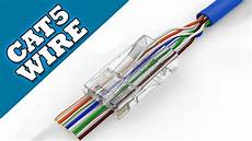 How To Make Cat 5 Cable Network Wire Tutorial Guide