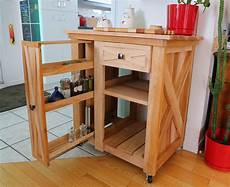 Small Rustic Kitchen Island