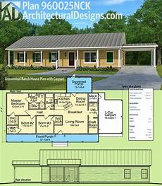 house plans with carports plan 960025nck economical ranch house plan with carport