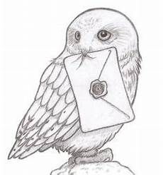 Eule Hedwig Malvorlage Coloring Snowy Owl Hedwig Picture Harry Potter