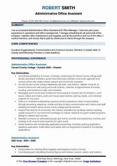 administrative resume sles exles and tips