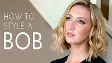 How To Style My Hair how to style hair the modern bob