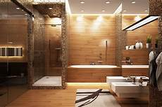17 Charming Bathroom Designs With Wooden Elements For Cozy
