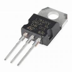 Voltage Regulator 12v 12766 Sparkfun Electronics