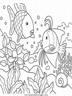 Ausmalbilder Verschiedene Fische Wasserpflanzen Ausmalbilder Unterwasserpflanzen