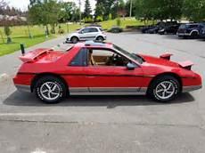how things work cars 1985 pontiac fiero transmission control 1985 pontiac fiero gt 4 speed 40 700 original miles rare interior no reserve for sale