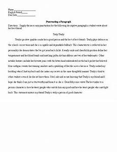 punctuation a paragraph worksheet and key by lonnie jones