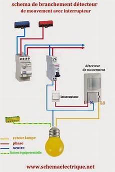 branchement detecteur de mouvement 5825 sch 233 ma electrique contacteur jour nuit sch 233 ma electrique electrical engineering