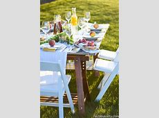 Pop Up Backyard Dinner Party   Fantabulosity