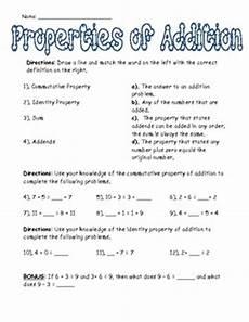 10 best addition properties images pinterest math