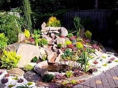 Steingarten Mit Teich - steingarten anlegen welche pflanzenarten sind am besten
