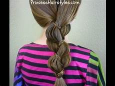 unique quot braid in a braid quot easy hairstyles youtube