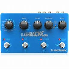 delay pedal with presets tc electronic flashback 2 x4 delay guitar effects pedal 6 presets 653341322036 ebay