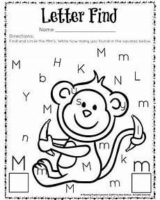 letter m recognition worksheets 24313 letter find worksheets with a freebie worksheets kindergarten and count