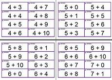 math facts flash cards printable 10765 s resources mental math 356 flash cards free