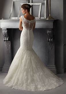 delicate beading on alencon lace wedding dress style
